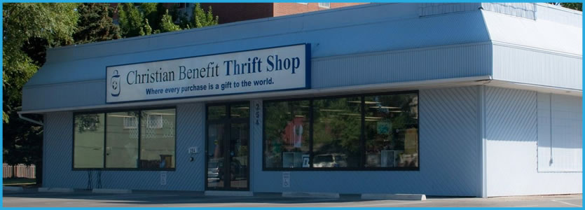 christian benefit thrift shop