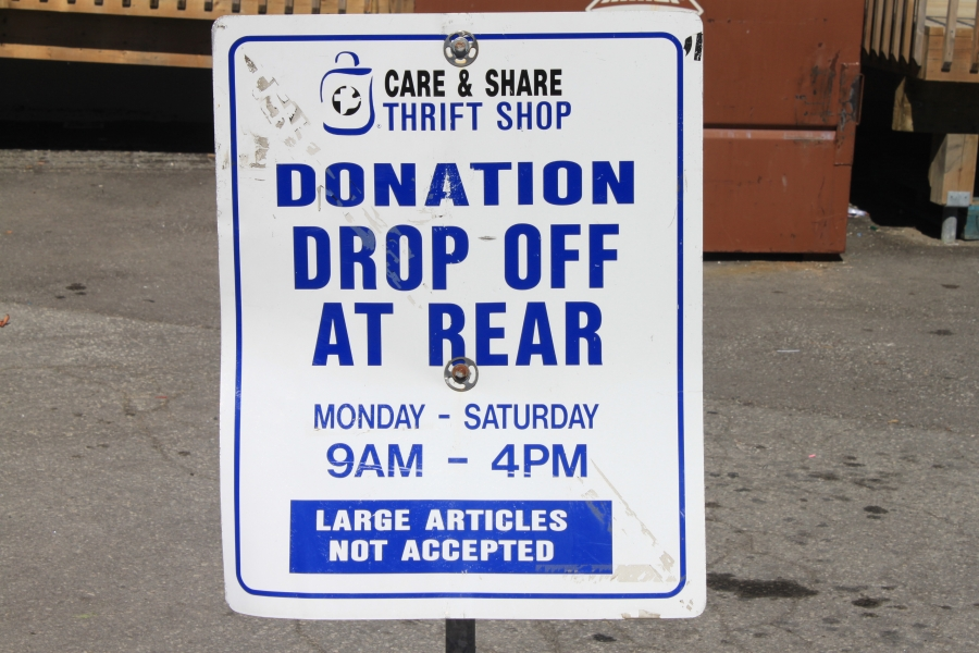 Stouffville Care and Share Thrift Shop - Donate